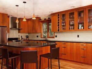 Tủ bếp gỗ Xoan đào 13