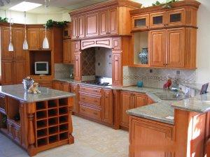 Tủ bếp gỗ Xoan đào 32