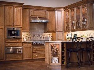 Tủ bếp gỗ Giáng hương 22