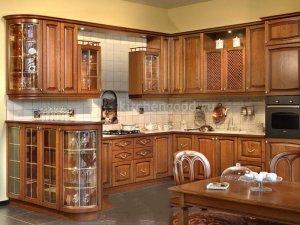Tủ bếp gỗ Xoan đào 52