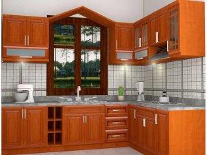 Tủ bếp gỗ Giáng hương 16