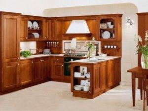 Tủ bếp gỗ Xoan đào 46