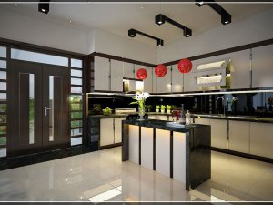 Tủ bếp Acrylic 76