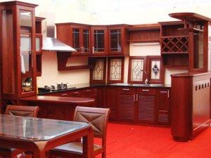 Tủ bếp gỗ Giáng hương 23