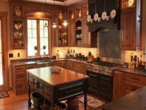 Tủ bếp gỗ Xoan đào 24