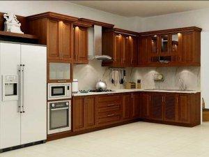 Tủ bếp gỗ Xoan đào 16