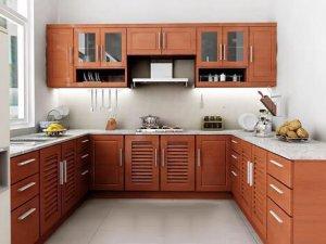 Tủ bếp gỗ Xoan đào 42
