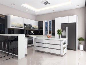 Tủ bếp Acrylic 67