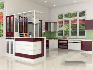 Tủ bếp Acrylic 68