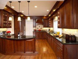 Tủ bếp gỗ Xoan đào 48