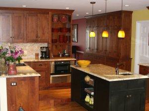 Tủ bếp gỗ Xoan đào 35