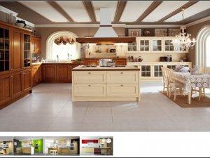 Tủ bếp có quầy đảo 4