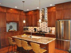 Tủ bếp gỗ Xoan đào 11