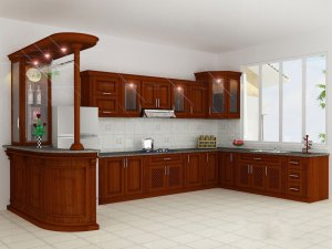 Tủ bếp gỗ Xoan đào 33