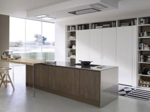 Tủ bếp MFC lõi xanh 1