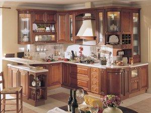 Tủ bếp gỗ Giáng hương 12