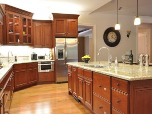 Tủ bếp gỗ Xoan đào 18