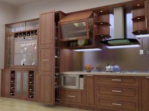 Tủ bếp gỗ Giáng hương 19