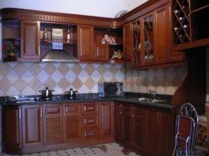 Tủ bếp gỗ Xoan đào 34