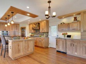 Tủ bếp gỗ sồi Mỹ 8