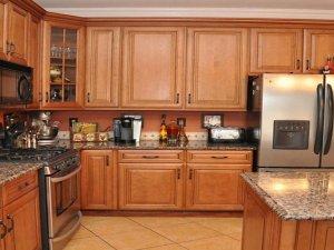 Tủ bếp gỗ Xoan đào 14