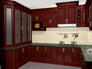 Tủ bếp gỗ Giáng hương 15
