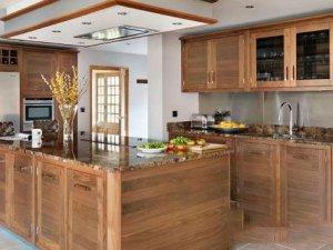 Tủ bếp gỗ sồi Mỹ 18
