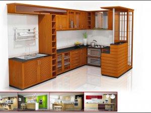 Tủ bếp bán cổ điển 3