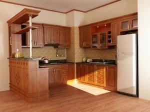 Tủ bếp gỗ Giáng hương 14