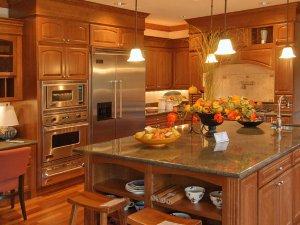 Tủ bếp gỗ Xoan đào 19
