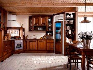 Tủ bếp gỗ Xoan đào 27