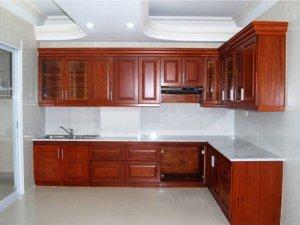 Tủ bếp gỗ Xoan đào 55