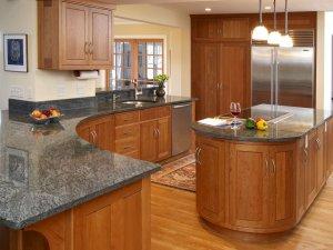 Tủ bếp gỗ Xoan đào 17