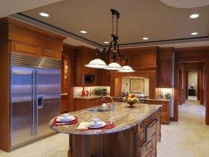 Tủ bếp gỗ Xoan đào 45