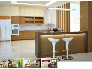 Tủ bếp có Quầy BAR 4