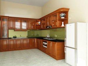 Tủ bếp gỗ Xoan đào 54