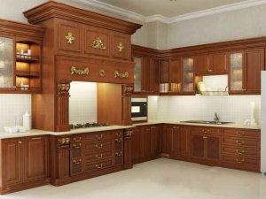Tủ bếp gỗ Xoan đào 40