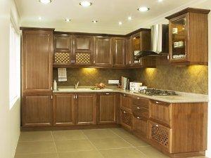 Tủ bếp gỗ sồi Mỹ 10
