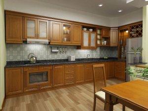 Tủ bếp gỗ Xoan đào 20