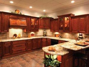 Tủ bếp gỗ Xoan đào 9