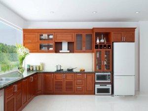 Tủ bếp gỗ Xoan đào 38