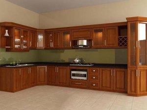 Tủ bếp gỗ Xoan đào 47
