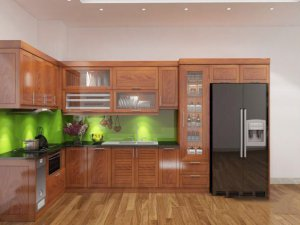 Tủ bếp gỗ Xoan đào 39