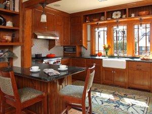 Tủ bếp gỗ Xoan đào 30