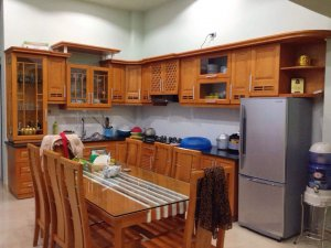 Tủ bếp gỗ Xoan đào 21