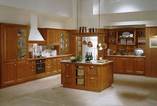 Tủ bếp gỗ sồi Mỹ 16