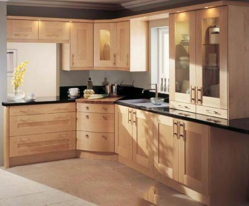 Tủ bếp gỗ sồi Mỹ 15
