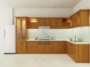 Tủ bếp theo hình dáng 4