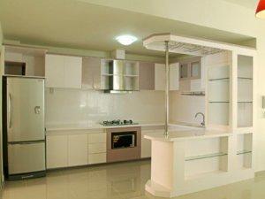Tủ bếp theo hình dáng 1