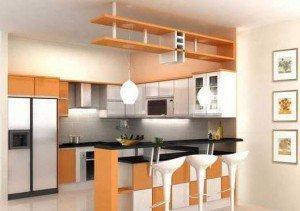 Tủ bếp có Quầy BAR 11